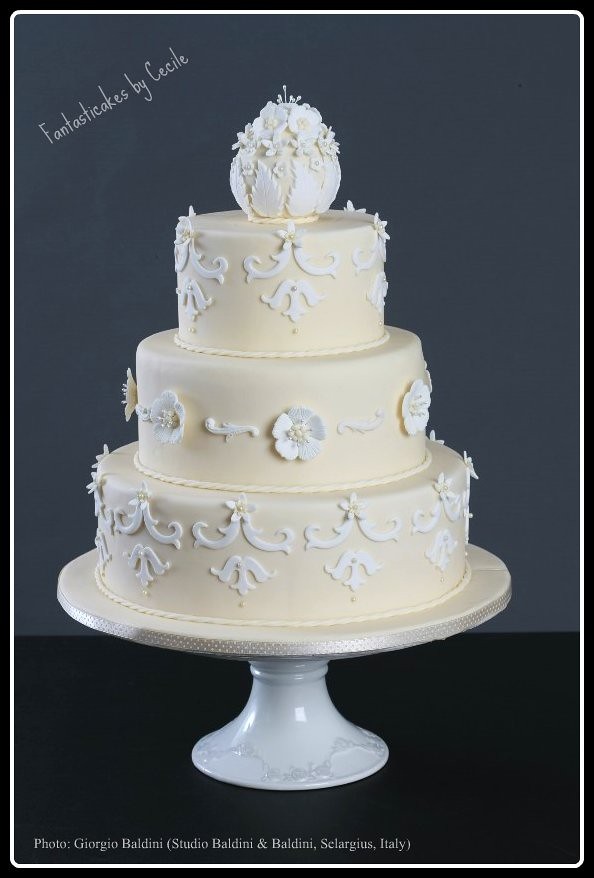 2nd marriage wedding cakes white and ivory now and then my second wedding cake for 10115