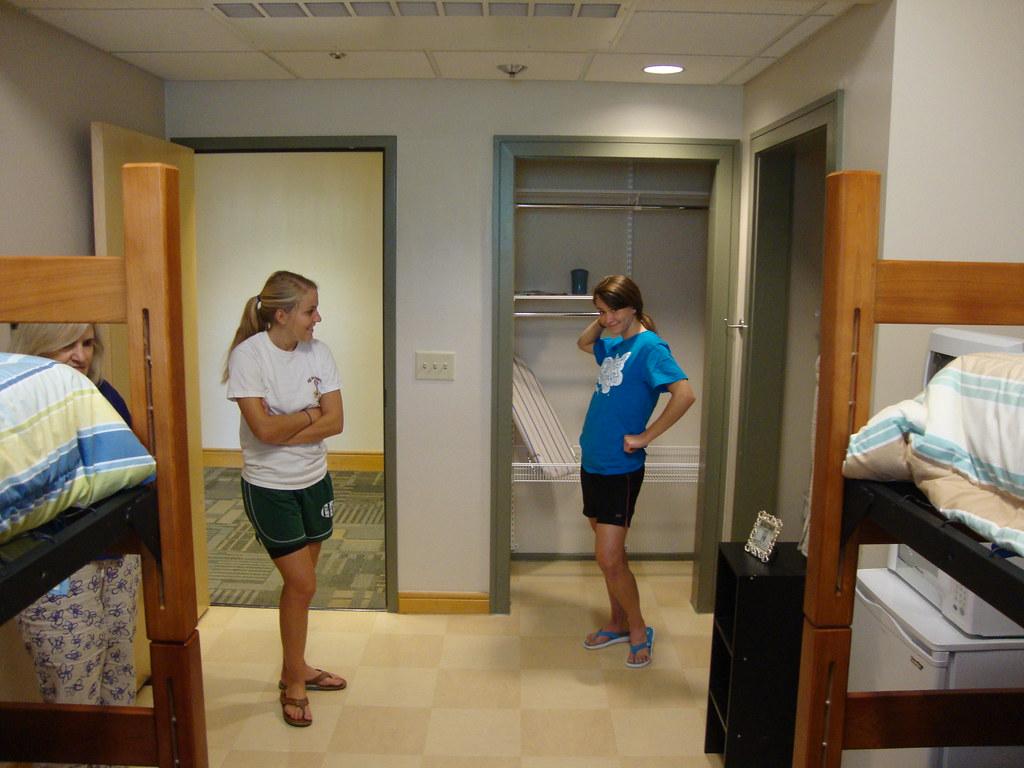 Dsc02547 Model Students In The Model Dorm Room In Hank