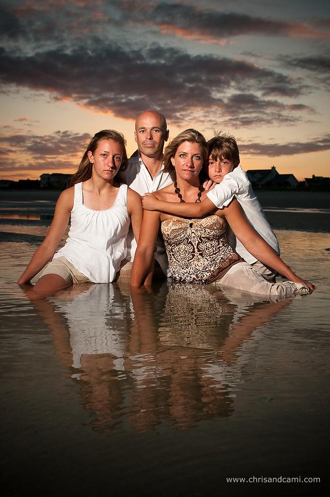 Jessica  Keiths Family Beach Portraits  Posted Via -5814