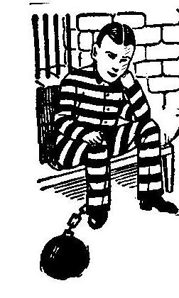 prisoner with ball and chain gary arthur flickr