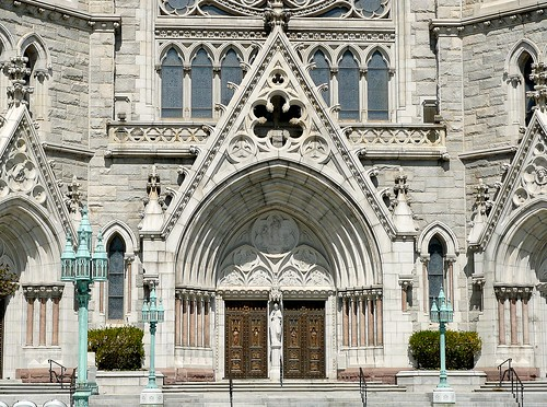 Cathedral Basilica of the Sacred Heart - Front | by McDuck17