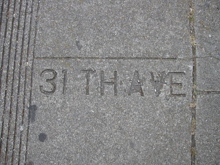 """31th"" (31st) Avenue and Judah Street 