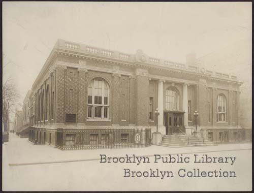 Carroll Gardens Branch picture F A Walter Flickr