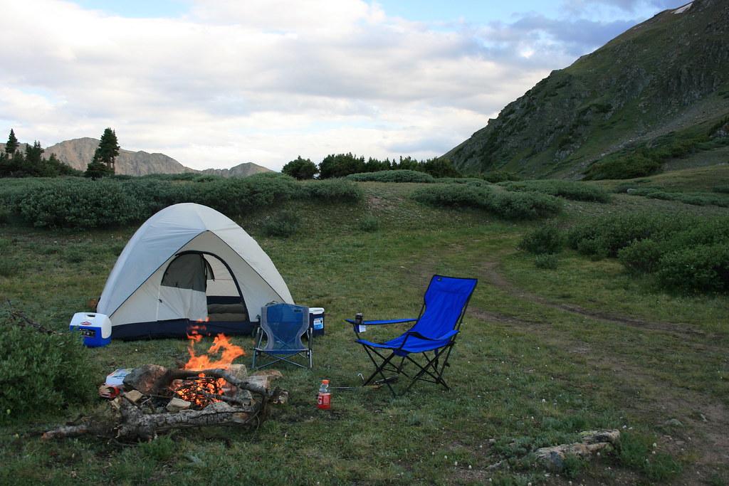 Camping Near Sunset Beach