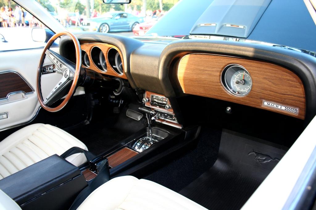 1970 Mustang Mach 1 Interior 1024x683 Charlie J Flickr