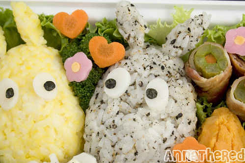 Bento #77: the Moomins bento | by AnnaTheRed