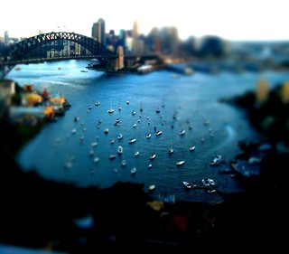 Looking down on Sydney Harbour (EXPLORED FRONT PAGE) | by Michael.Sutton