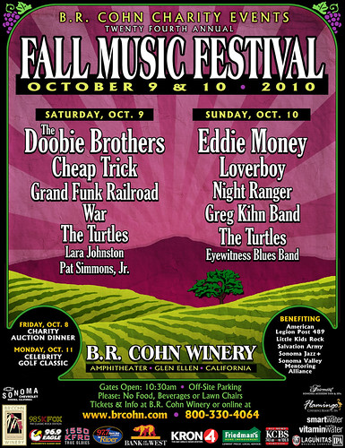 2010 B.R. Cohn Charity Fall Music Festival | by B.R. Cohn