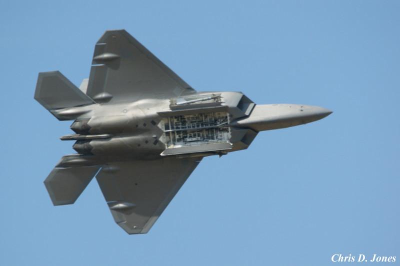... F-22 Rapter Bomb Bay Doors Open | by Chris D. Jones & F-22 Rapter Bomb Bay Doors Open | The Royal International Aiu2026 | Flickr