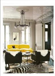 ... Yellow Velvet Sofa Via Domino | By Atexski