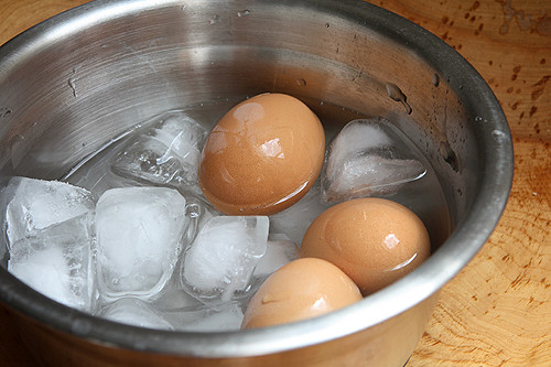 hard cooked eggs | by David Lebovitz