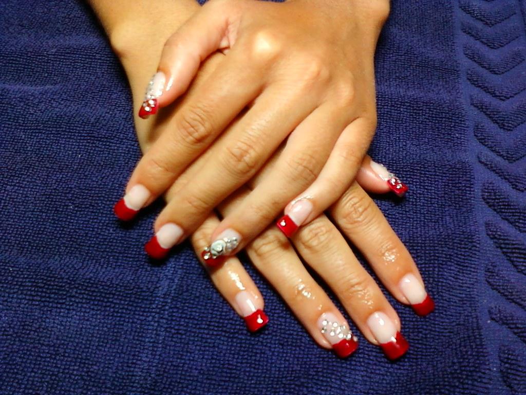 uas de gel rojas vermelhas manos de graa by emy marques da mata