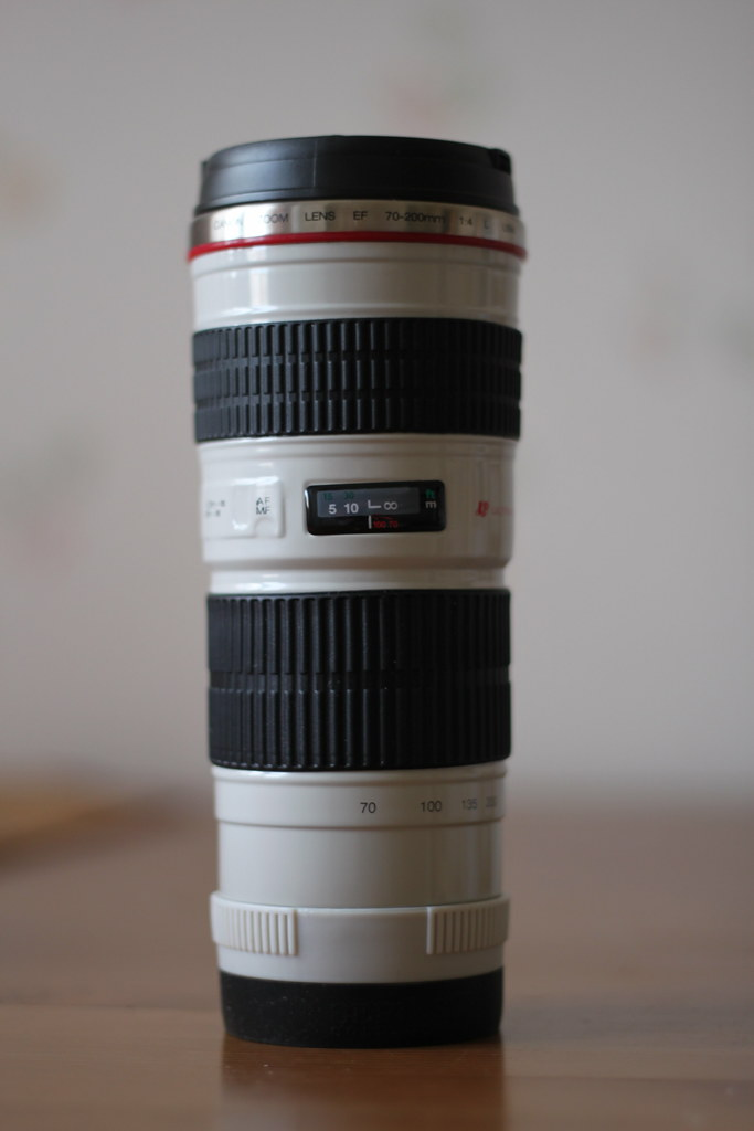 Camera Lens Travel Mug Argos