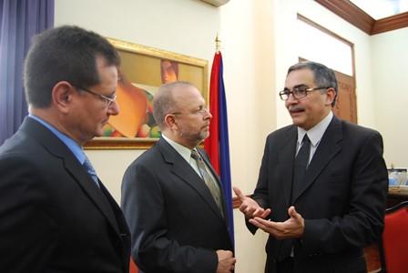 Respaldo comisionado dall anese ministerio de relaciones Ministerio de relaciones exteriores y culto