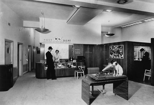 hmv 363 Oxford Street, London - Post Department 1940s