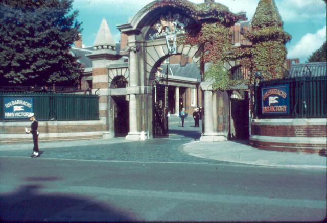 09 Victory Barracks Gate 1958