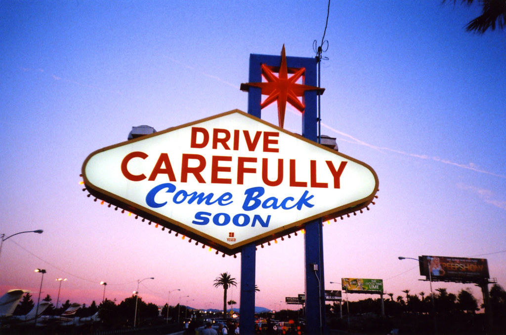 Lomo – DRIVE CAREFULLY Come Back Soon | Leaving Las Vegas ...