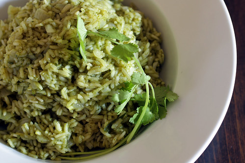 Green Poblano Rice | by Madison Bistro