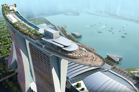 Singapore's Marina Bay Sands Hotel-Casino Resort
