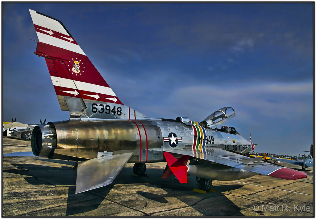 F-100F Super Sabre Fighter Jet | Please click on the image ...