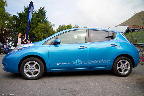 The Nissan Leaf | by Tom Raftery