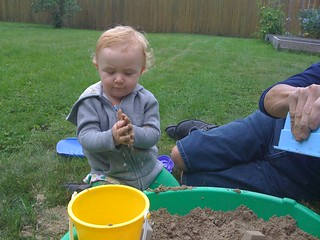 New sandbox at grandma's! | by Stef Noble