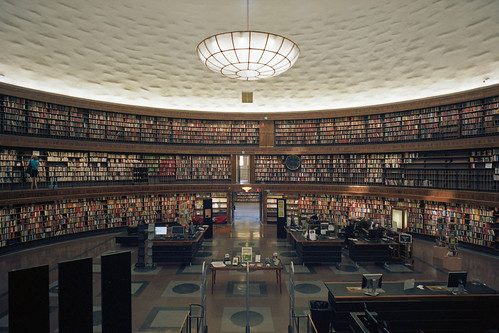 Stockholm Public Library (3) | by tessarian