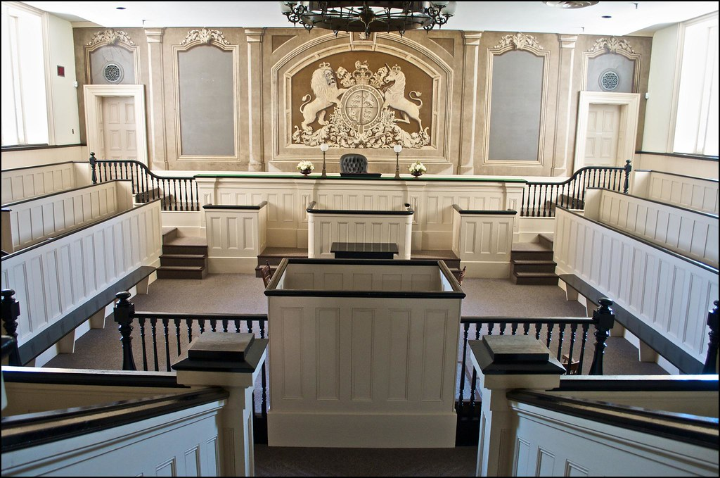 Old Bailey Deepwell Courtroom The Courtroom Is Modeled