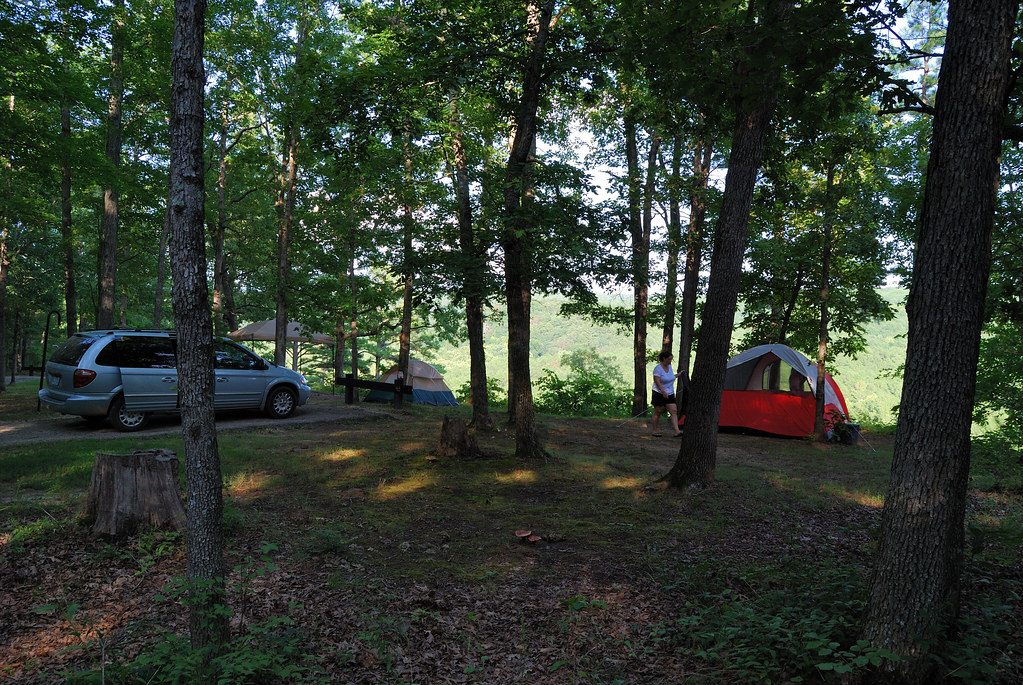 Pines overlook campsite red bluff campground missouri flickr pines overlook campsite red bluff campground missouri by gary allman sciox Images