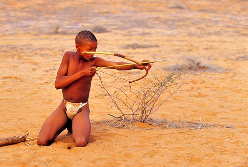 Namibia, the archer | by Vittorio Ricci (thanks +++ 2.7 millions views)