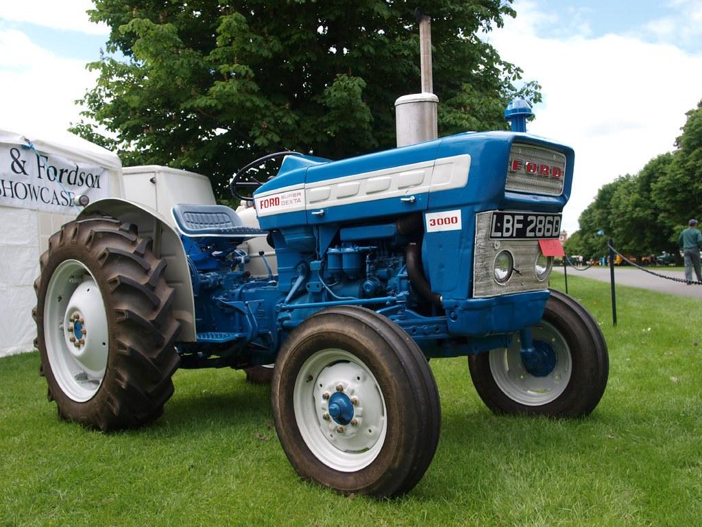 1965 Ford 3000 Tractor : Ford super dexta farm tractors