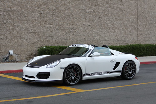 Porsche Boxster Spyder Nip Tuck Front Bumper With