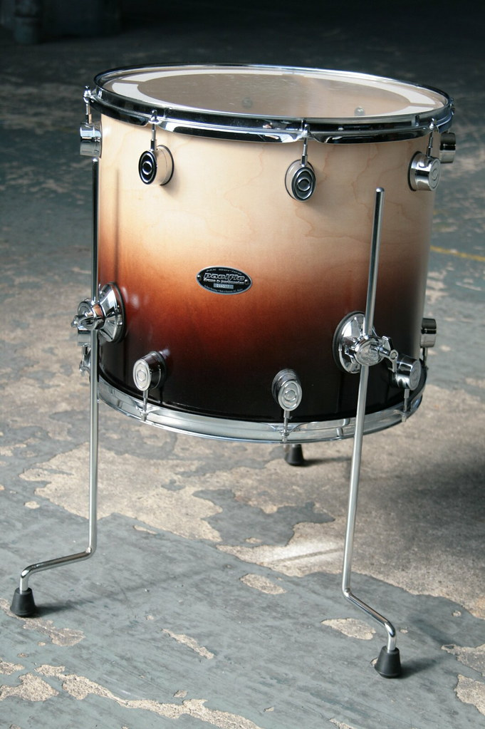 pacific pdp by dw mx series 16 floor tom drums for sale flickr. Black Bedroom Furniture Sets. Home Design Ideas