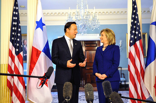 Secretary Clinton Speaks With Panamanian Vice President and Foreign Minister Varela | by U.S. Department of State
