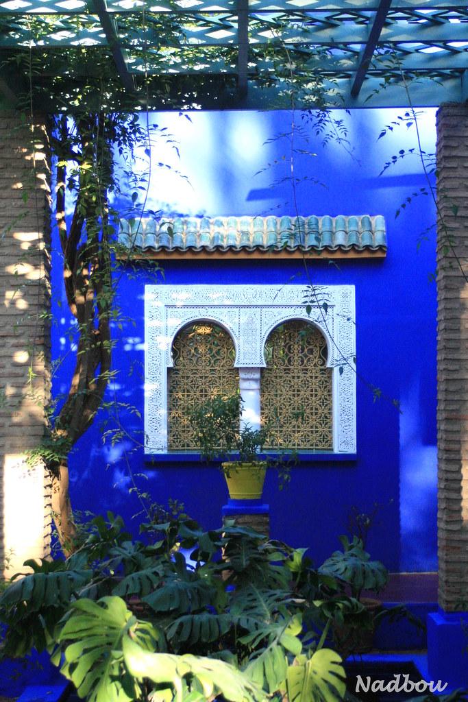 Jardin Majorelle Marrakech Maroc Nadbou Flickr