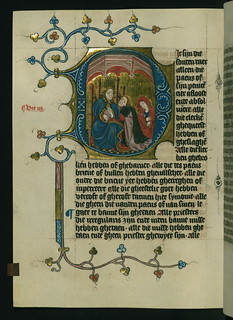 Illuminated Manuscript, Duke Albrecht's Table of Christian Faith (Winter Part), Confession to a pope, Walters Art Museum Ms. W.171, fol. 116v | by Walters Art Museum Illuminated Manuscripts