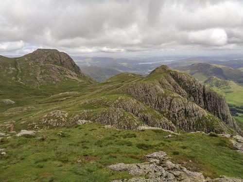 Loft Crag and Harrison Stickle