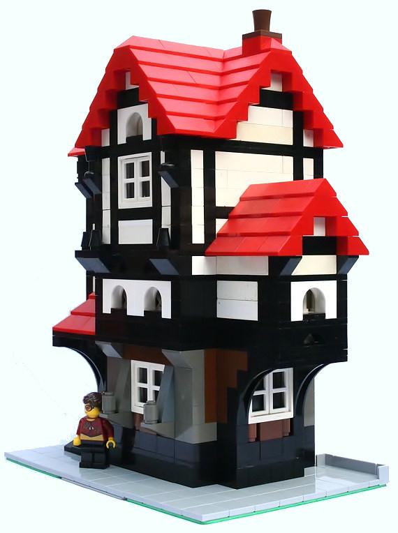 lego house side toby gentle flickr. Black Bedroom Furniture Sets. Home Design Ideas