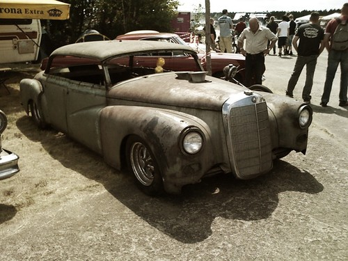 Mercedes benz 300 adenauer hot rod want race61 posted for Ralf benz