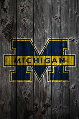 Michigan Wolverines American Football Wallpaper
