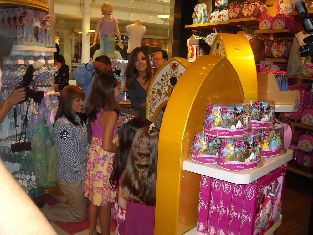 Magic mirror in the Disney Store in Montebello, California ...