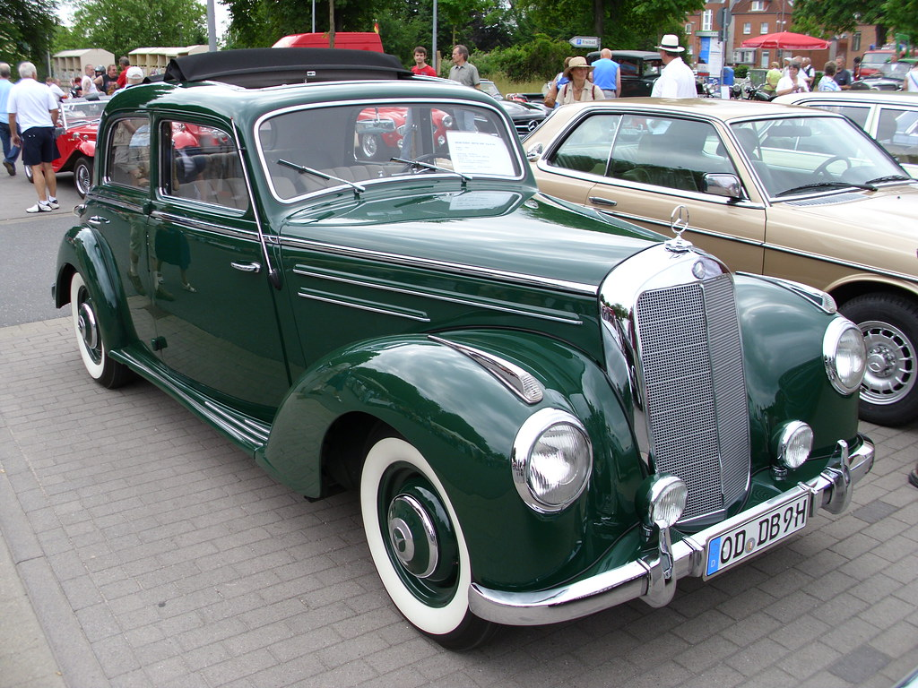 Mercedes benz w187 220 1953 1 trittau 2010 hog for 1953 mercedes benz