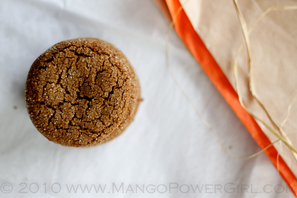 spicy molasses cookies