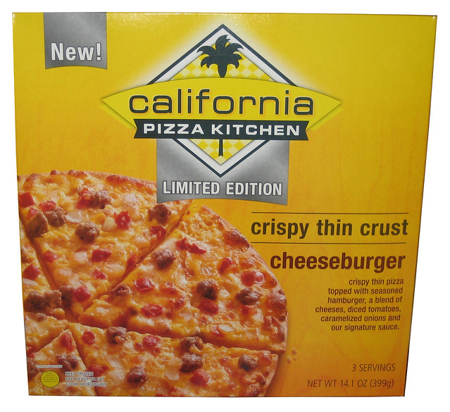 Limited Edition California Pizza Kitchen Cheeseburger Pizza Flickr