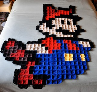 Super Mario | by The Yarn Geek