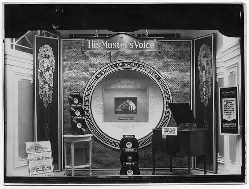 hmv 363 Oxford Street, London - Symbol Of World Supremacy window display
