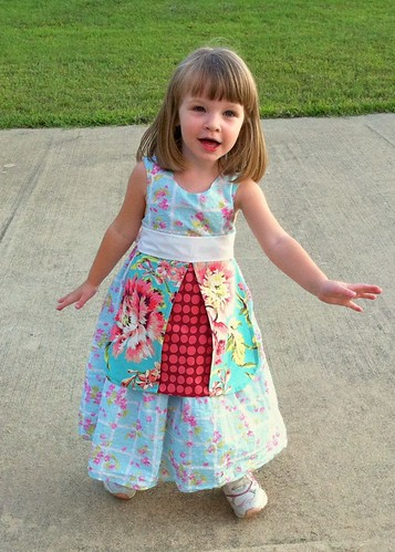 Ladybug half apron for kids | by Sew Spoiled