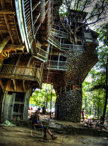 Minister's Treehouse, Crossville, TN | by Chuck Sutherland