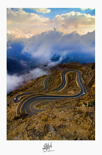 from Abha..  snake road | by Ahmad Al Mousa أحمد آل موسى
