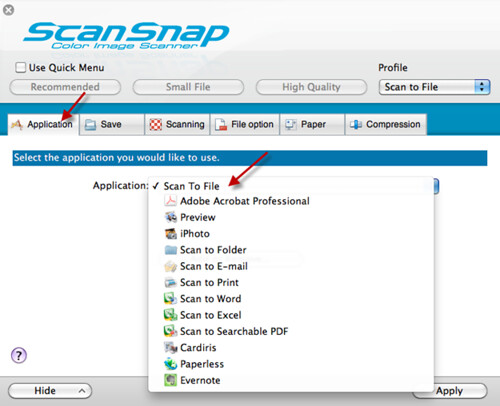 How to Scan without Viewing the File in Preview_2 | by ScanSnap